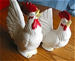 Click here to enlarge image and see more about item roosters804082: Retro Japan Rooster and Hen