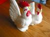 Click to view larger image of Retro Japan Rooster and Hen (Image3)