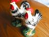 Click to view larger image of Vintage Japan Rooster and Hen Figurines (Image2)