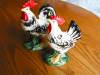 Click to view larger image of Vintage Japan Rooster and Hen Figurines (Image3)