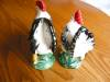 Click to view larger image of Vintage Japan Rooster and Hen Figurines (Image6)