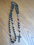 Click here to enlarge image and see more about item rosary110406: Large Vintage Italian Rosary