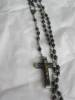 Click to view larger image of Vintage Ebony? Bead Rosary (Image3)