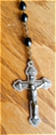 Click here to enlarge image and see more about item rosary804081: Vintage Rosary Marked Italy