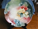 Click here to enlarge image and see more about item rosenthal30609: Antique Rosenthal Porcelain Cabinet Plate