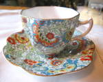 Click to view larger image of Rosina Bone China Paisley Vintage Teacup (Image3)
