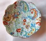 Click to view larger image of Rosina Bone China Paisley Vintage Teacup (Image4)
