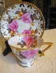 Click here to enlarge image and see more about item royalsealy0515: Royal Sealy Lustre Cutout Teacup