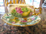 Click here to enlarge image and see more about item royalsealy060911: Royal Sealy Lustre Footed Teacup