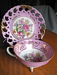 Click here to enlarge image and see more about item royalsealy408991: Royal Sealy Footed Teacup
