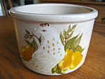 Click to view larger image of Ransbottom Stoneware Butter Crock (Image1)