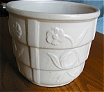 Click to view larger image of Vintage RRP Flower Jardiniere (Image1)