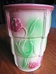 Click to view larger image of Vintage RRP Roseville Vase (Image1)