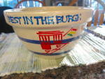 Click to view larger image of Ransbottom Blue Stripe Bowl (Image4)
