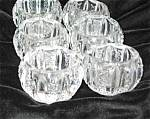 Click here to enlarge image and see more about item saltdips1213: Antique Salt Cellars
