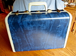 Click here to enlarge image and see more about item samsonite92006: Small Vintage Samsonite Suitcase