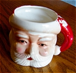 Click here to enlarge image and see more about item santa90413: Vintage Santa Mug