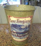 Click here to enlarge image and see more about item sapbucket010511: Vintage New England Sap Bucket