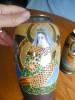 Click to view larger image of Vintage Satsuma Vase Pair (Image2)