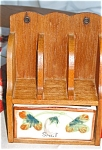 Click here to enlarge image and see more about item sb03031: Vintage Salt Box