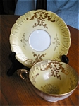 Click here to enlarge image and see more about item sealy10515: Royal Sealy Teacup and Saucer