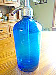 Click here to enlarge image and see more about item seltzerbottles100310: Vintage Seltzer Bottle