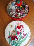 Click to view larger image of Vintage Tin and Sewing Collectibles (Image6)