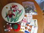 Vintage Tin and Sewing Collectibles