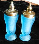 Click here to enlarge image and see more about item shakers104191: Satin Glass Shakers