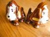 Click to view larger image of Vintage Sad Sam Dog Shakers (Image3)