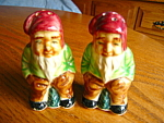 Click here to enlarge image and see more about item shakers70807: Vintage Japan Elf Shakers