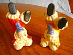 Click to view larger image of Vintage Clown Shakers (Image1)