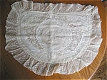 Click here to enlarge image and see more about item sham100531: Vintage Lace Pillow Sham
