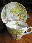 Click here to enlarge image and see more about item shelley807: Vintage Shelley Woodland Teacup