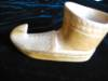 Click to view larger image of Vintage Carved Wood Shoe (Image4)