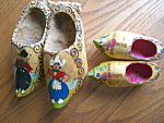 Vintage Holland Wooden Shoes