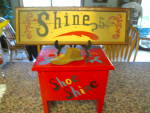 Click here to enlarge image and see more about item shoeshine100310: Vintage Shoeshine Items