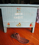 Click here to enlarge image and see more about item shoeshine102106: Primitive Shoeshine Accessories