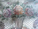 Click to view larger image of Large Vintage Silk Tablecloth (Image3)