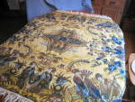 Click here to enlarge image and see more about item silktopper110809: Vintage Silk Topper