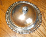 Click here to enlarge image and see more about item silvbut10031: Silver Butter Dish