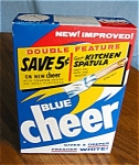 Click here to enlarge image and see more about item soap110511: Vintage Blue Cheer Soap Box
