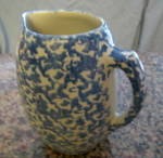 Click to view larger image of Vintage Spongeware Pitcher (Image3)