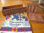 Click here to enlarge image and see more about item springerlemolds0215: Vintage Springerle Mold Assortment