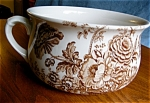 Click here to enlarge image and see more about item staff10025: Crown Devon Transferware Chamber Pot