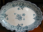 Click to view larger image of Antique Staffordshire Platter (Image1)