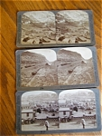 Click here to enlarge image and see more about item stereocards100530: Three Underwood Stereo Viewer Cards