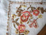 Click to view larger image of Embroidered Linen Tablecloth  (Image3)
