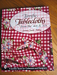 Click here to enlarge image and see more about item tableclothbook20725: Teriffic Tablecloths from the 40's & 50's