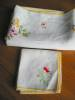 Click to view larger image of Vintage Linen Tablecloth and Napkins (Image4)